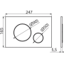Инсталляция с унитазом: AlcaPlast A101/1200+M670+ Kolo IDOL M1310000U