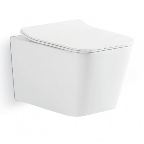 Унитаз подвесной Devit LineaRimless (3040120)  с сиденьем Soft Close