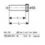 Впускной патрубок для унитаза Geberit (152.434.06.1) d 45 мм