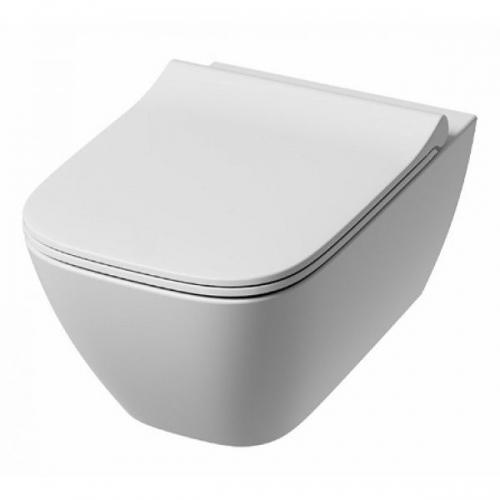 Унитаз подвесной Kolo Modo Pure Rimfree L33123000 + L30115000 с сидением Slim