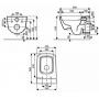 Унитаз подвесной Kolo Life Reflex Rimfree M23120900 без крышки