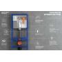 Инсталляция для унитаза Aqua 52 QF (без кнопки), S97-062
