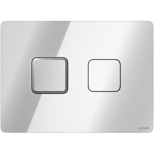 Кнопка смыва Cersanit Accento Square (S97-057) хром