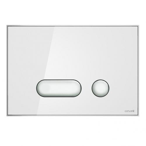 Кнопка смыва Cersanit Intera хром глянцевая S97-020