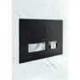 Кнопка смыва Cersanit Movi (S97-013) черная