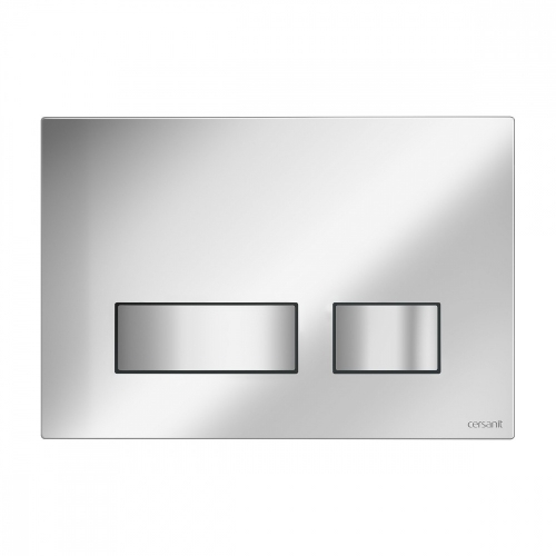 Кнопка смыва Cersanit Movi (S97-026) хром/глянцевый