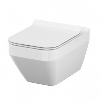 Унитаз Cersanit Crea Clean On K114-016+K98-0178 сиденье