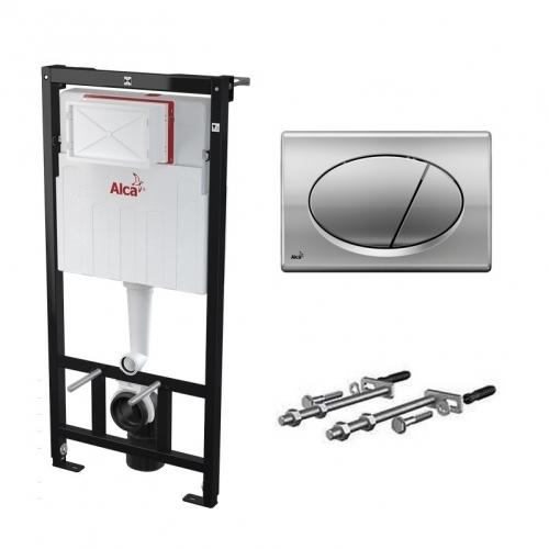 Система инсталляции Alcaplast A101/1200 с кнопкой M71
