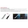 Водоотводящий желоб AlcaPlast APZ13-DOUBLE9-850