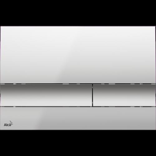 Кнопка управления AlcaPlast M1722 (хром-матовая)