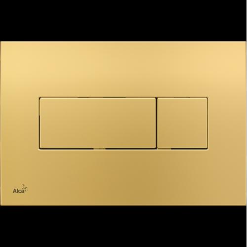 Кнопка управления AlcaPlast M375 золотая