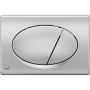 Кнопка управления AlcaPlast M72 хром–матовая