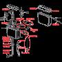 Универсальный бачок AlcaPlast A94 для унитаза