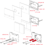 Кнопка управления AlcaPlast FUN мат/глянец