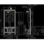 Инсталляция для подвесного унитаза AlcaPlast AAM101/1120+M672 хром мат