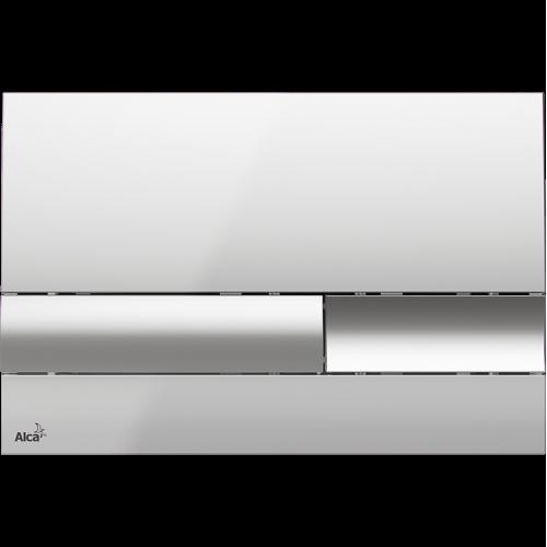Кнопка управления AlcaPlast M1741, (хром/глянцевая)