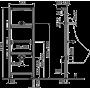 Монтажная рама Alca Plast A107/1120 для писсуара