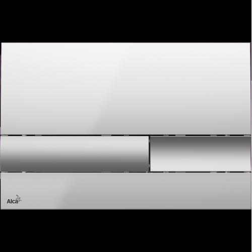 Кнопка управления AlcaPlast M1743 (хром матовая/глянцевая)