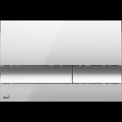 Кнопка управления AlcaPlast M1721 (хром-глянцевая)