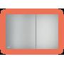 Кнопка управления AlcaPlast AIR LIGHT (зеленая подсветка)
