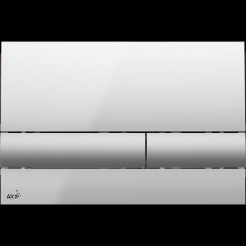 Кнопка управления AlcaPlast M1713 (хром-глянцевая/матовая)