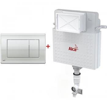 Бачок для унитаза AlcaPlast AM112+клавиша M271