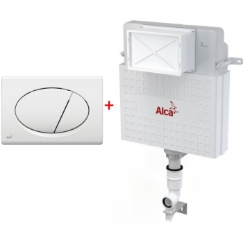 Бачок для унитаза AlcaPlast AM112+M70