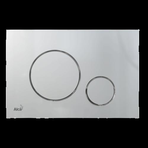 Кнопка управления AlcaPlast M672 хром мат