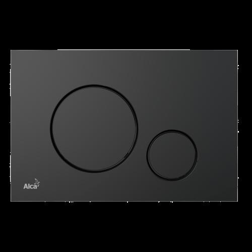 Кнопка управления AlcaPlast M678 черный мат
