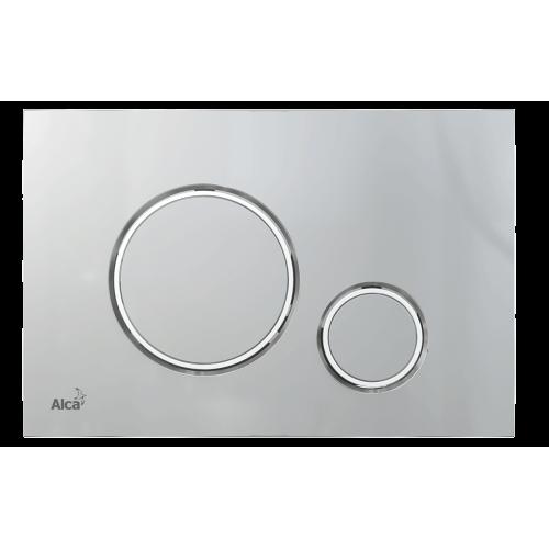 Кнопка управления AlcaPlast M772 хром мат