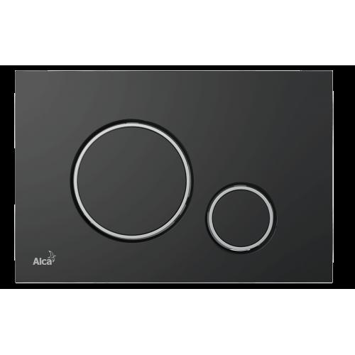 Кнопка управления AlcaPlast M778 черный мат