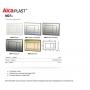 Инсталляция для подвесного унитаза AlcaPlast AAM101/1120+M278 черный матовый