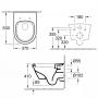 Инсталляция с унитазом: Koller Pool Alcora ST1200 + Villeroy&Boch Architectura 5684H101