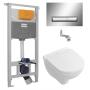 Инсталляция с унитазом: Imprese 3в1 i8120 + Villeroy&Boch O.Novo 5660H101