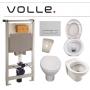 Инсталляция с унитазом: Volle Master 141515 + Volle Feliz 13-50-250 с сидением soft-close