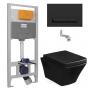 Инсталляция с унитазом: Imprese i8122B + Volle Teo 13-88-422 Black
