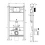 Система инсталляции Volle Master (3 в1) EVO 212010