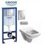 Инсталляции с унитазом: Grohe Rapid SL 38721001 + Kolo Nova Pro Rimfree M39018000
