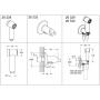 Душевой набор с вентилем Grohe Sena Trigger Spray 35 26332000