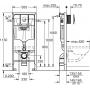 Инсталляция с унитазом: Grohe Rapid SL 38750001+Kolo Idol M1310002U с сидением Softclose