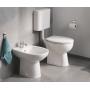 Напольный безободковый унитаз Grohe Bau Ceramic 39430000 + сидение 39330001