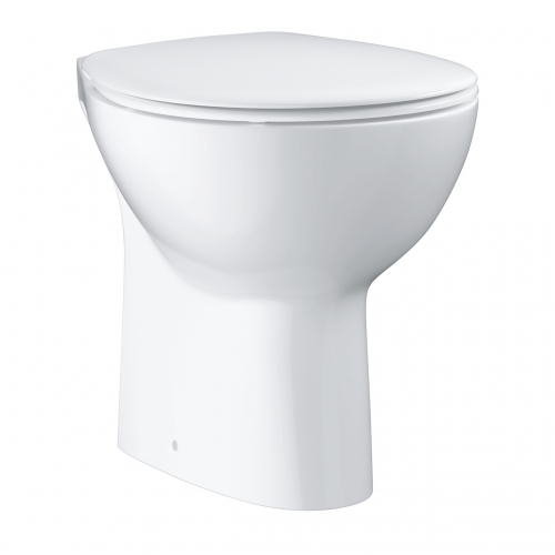 Напольный безободковый унитаз Grohe Bau Ceramic 39431000 + сидение 39330001