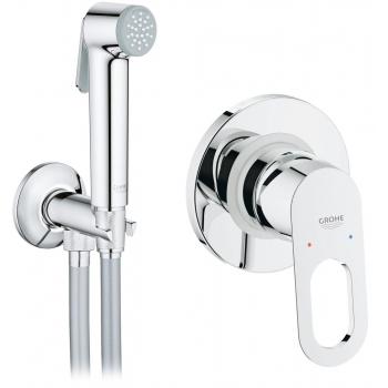 Гигиенический душ+смеситель Grohe BauLoop 2904200B