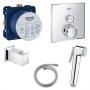 Гигиенический душ+смеситель Grohe Grohtherm SmartControl 29123000