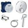 Гигиенический душ+смеситель Grohe Grohtherm SmartControl 29118000