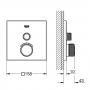 Душевой набор для биде Grohe Grohtherm SmartControl 29123000
