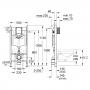 Инсталляция Grohe Rapid SL 38772001 с Унитазом Grohe Essence 39328000 (39328CB0)