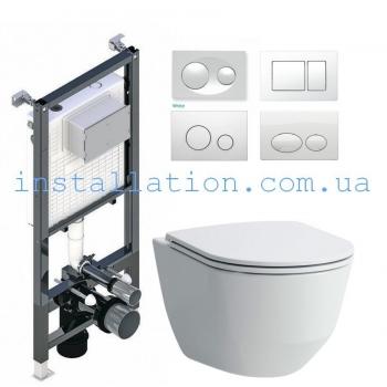 Инсталляция Koller Pool Ancora ST1200+Унитаз Laufen Pro H8669570000001