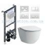 Инсталляция Koller Pool Alcora ST1200+унитаз Laufen Pro (H8669570000001)+Кнопка белая