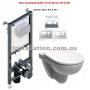Инсталляция Koller Pool Alcora ST1200+унитаз Kolo Nova Pro M33120000+Кнопка Kvadro Chrome